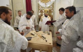 Великое освящение храма в честь святителя Иоанна Милостивого